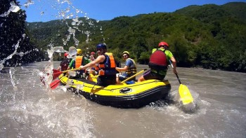 Rafting on the Rioni river (Family tour).